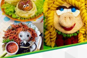 Como montar pratos divertidos para os pequenos