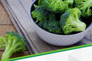 Brócolis, alimento saudável e nutritivo
